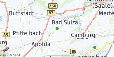 Google Map of Niedertrebra