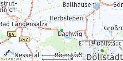 Google Map of Döllstädt