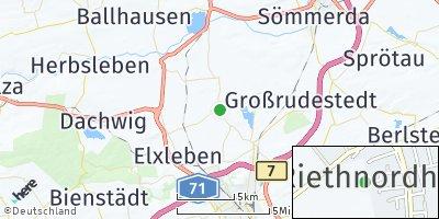 Google Map of Riethnordhausen