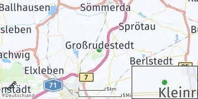 Google Map of Großrudestedt
