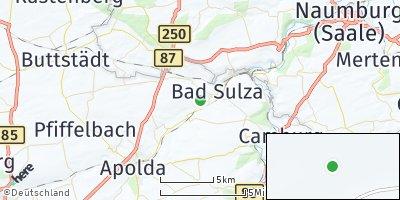 Google Map of Bad Sulza