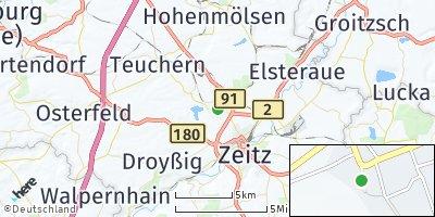 Google Map of Theißen