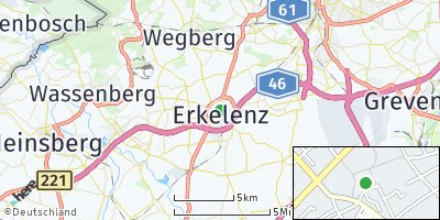 Google Map of Erkelenz