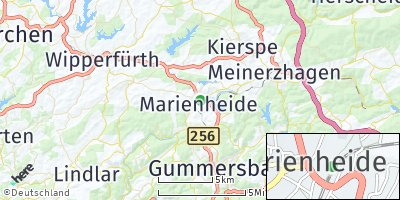 Google Map of Marienheide