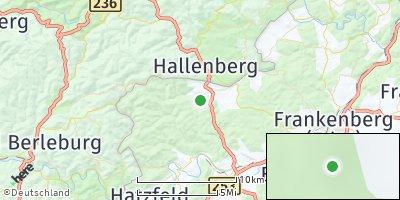 Google Map of Bromskirchen