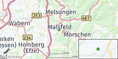 Google Map of Malsfeld