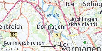 Google Map of Dormagen