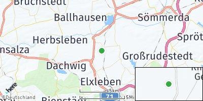 Google Map of Ringleben bei Gebesee