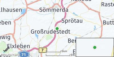 Google Map of Schloßvippach