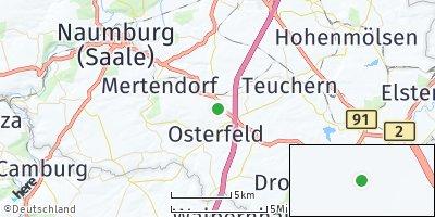 Google Map of Stößen