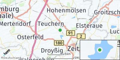 Google Map of Trebnitz bei Weißenfels