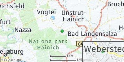 Google Map of Weberstedt