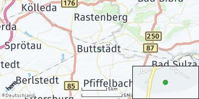 Google Map of Buttstädt