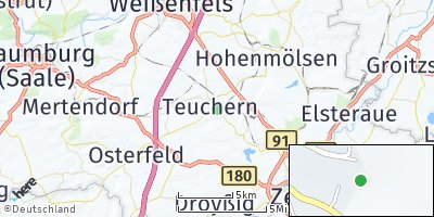 Google Map of Gröben bei Weißenfels