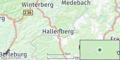 Google Map of Hallenberg