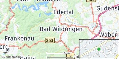 Google Map of Bad Wildungen