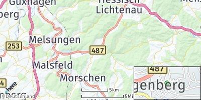 Google Map of Spangenberg