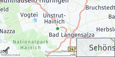 Google Map of Schönstedt