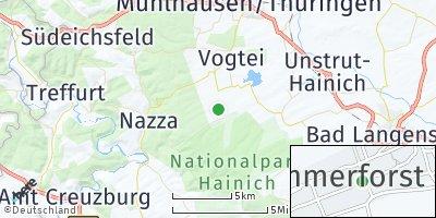 Google Map of Kammerforst