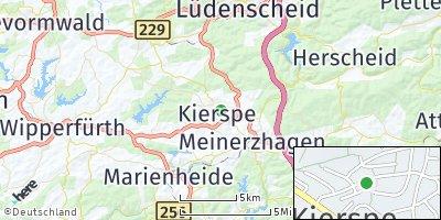 Google Map of Kierspe