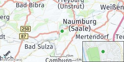 Google Map of Bad Kösen