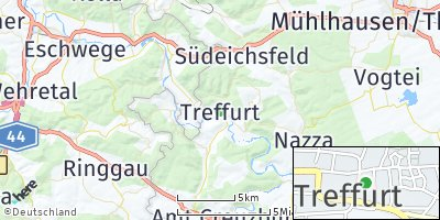 Google Map of Treffurt
