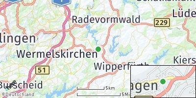 Google Map of Hückeswagen