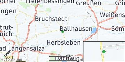 Google Map of Bad Tennstedt