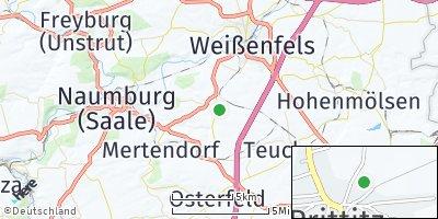 Google Map of Prittitz