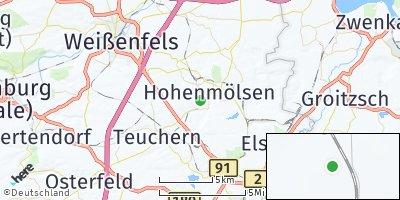 Google Map of Hohenmölsen
