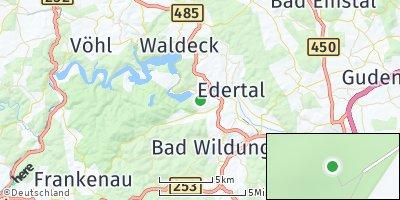 Google Map of Edertal