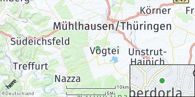 Google Map of Oberdorla