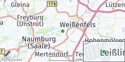 Google Map of Leißling