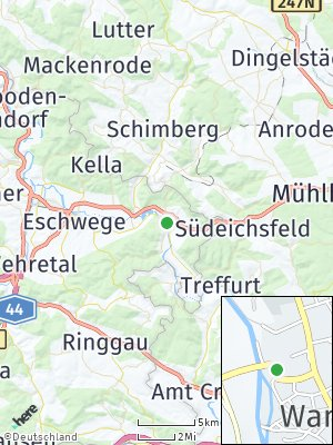Here Map of Wanfried