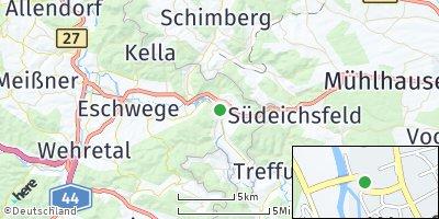 Google Map of Wanfried