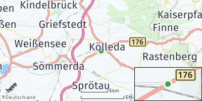 Google Map of Kölleda