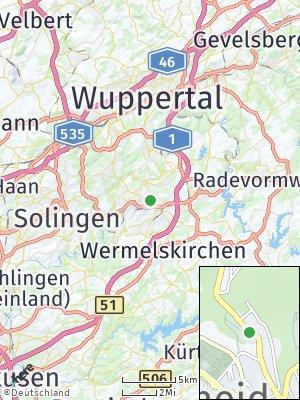 Here Map of Remscheid