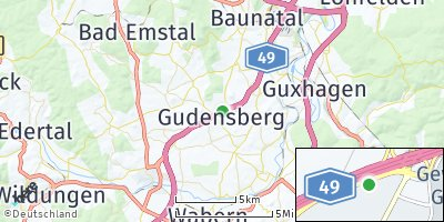 Google Map of Gudensberg