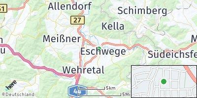 Google Map of Eschwege