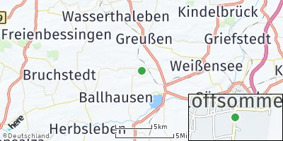 Google Map of Gangloffsömmern