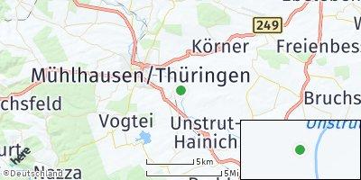 Google Map of Weinbergen