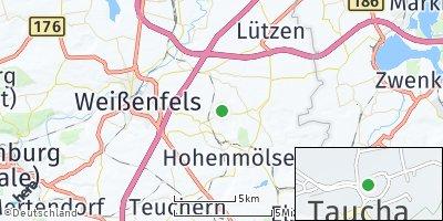 Google Map of Taucha bei Weißenfels