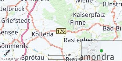 Google Map of Ostramondra