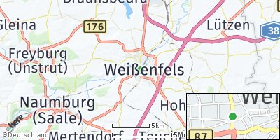 Google Map of Weißenfels