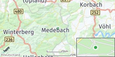 Google Map of Medebach