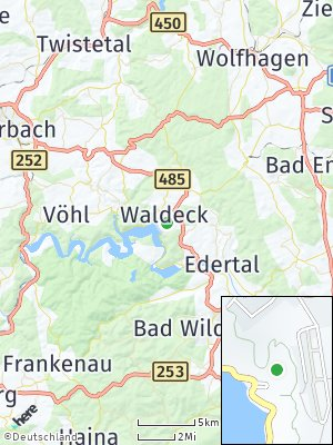 Here Map of Waldeck