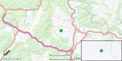 Google Map of Meißner bei Eschwege