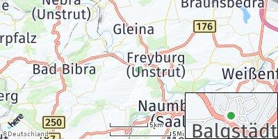 Google Map of Balgstädt
