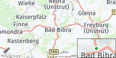 Google Map of Bad Bibra