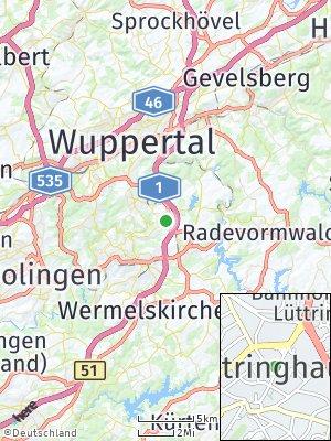 Here Map of Lüttringhausen